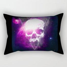 222 Skull Rectangular Pillow