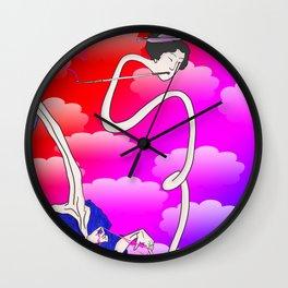 Rokurokubi Wall Clock