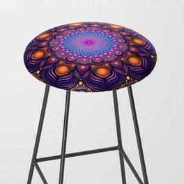"""""""Guardian"""" Mandala painting Bar Stool"""