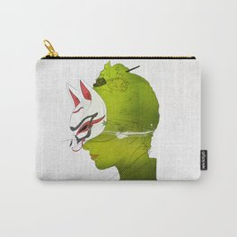 Fox Mask _side face Carry-All Pouch