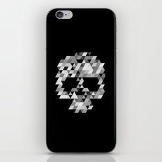Skull bw iPhone & iPod Skin