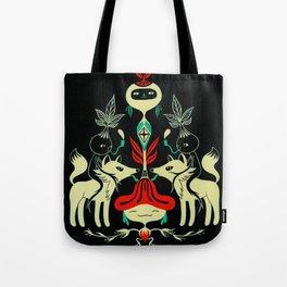 Mandragora and fox Tote Bag