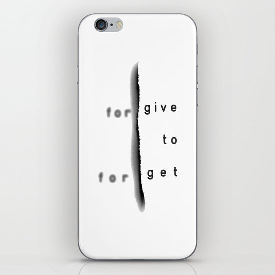 GIVE2GET iPhone & iPod Skin
