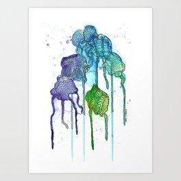 Jelly Dreams Art Print