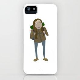 Malika the German iPhone Case