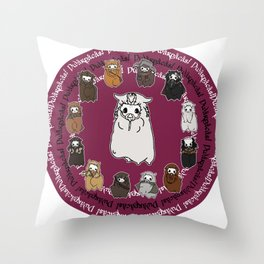 Dwarpacas(Dori) Throw Pillow