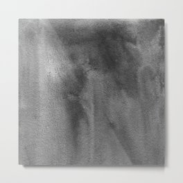 Grey Atmosphere I Metal Print