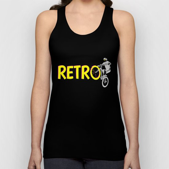 Retro Bike Unisex Tank Top