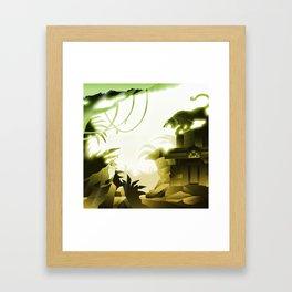 The Challenge Framed Art Print