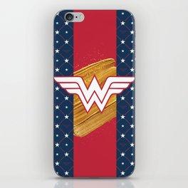 WonderWoman iPhone Skin