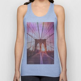 NYC Brooklyn Bridge Unisex Tank Top