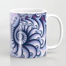 Owl Fractal Blueberry Coffee Mug