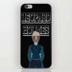 Leopard Holmes iPhone & iPod Skin