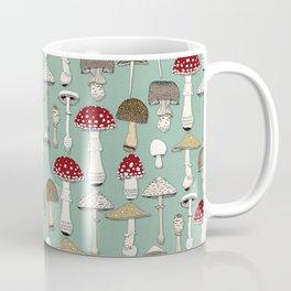 mushrooms jade Coffee Mug