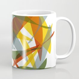 Abstract Whale / Abstract Snail Coffee Mug