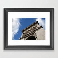 Arc de Triomphe Framed Art Print