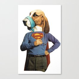 Super Doggy Canvas Print