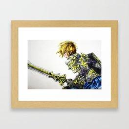 A fighter Spirit  Framed Art Print