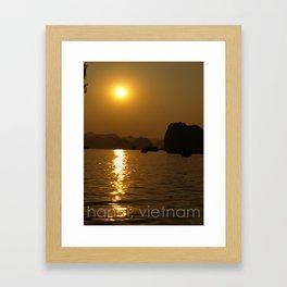 hanoi, vietnam Framed Art Print