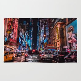 THE TIMES SQUARE SHUFFLE Rug