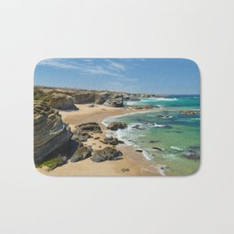 Samoqueira beach Bath Mat