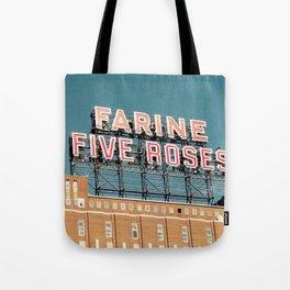 Farine Five Roses Tote Bag