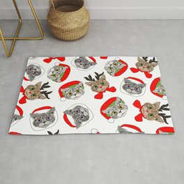 Festive Cats Rug