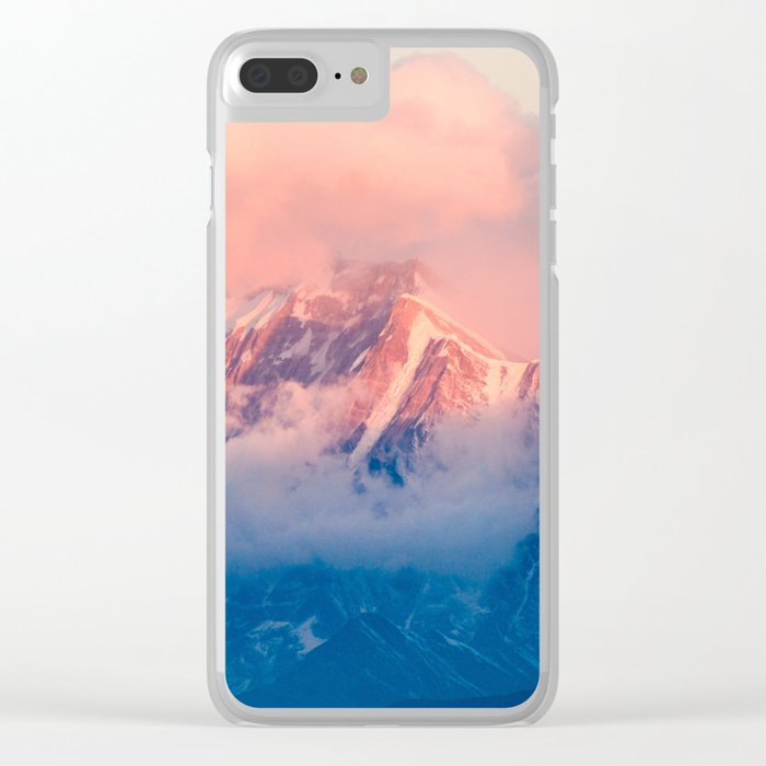 Nepal Clear iPhone Case