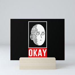Saitama Okay Mini Art Print