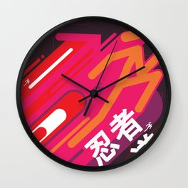 Flow Wall Clock