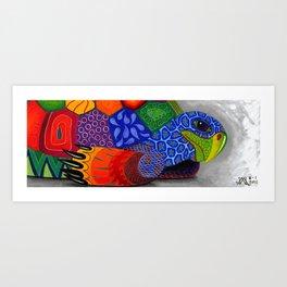 Oaxacan Turtle Art Print
