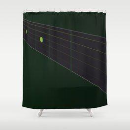 Fingerboard Shower Curtain