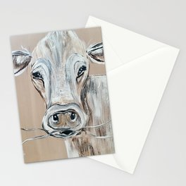 """""""Marge""""  the Cow Stationery Cards"""