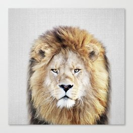 Lion 2 - Colorful Canvas Print