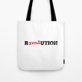 Revolution. Feminism. Grl Pwr. Smash the patriarchy. Peace gifts Tote Bag