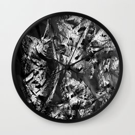 Cocoons Paper Wall Clock