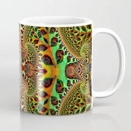 Psychedelic Fractal Geometry Coffee Mug