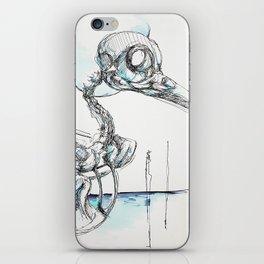 Crowskull iPhone Skin