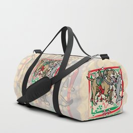 Swim Beyond Misconceptions - Happy Holidays! Duffle Bag