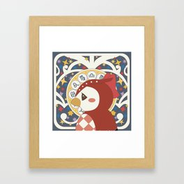 Animal Crossing: Étoiles de Celeste Framed Art Print