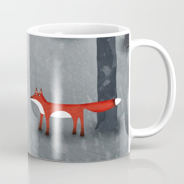 The Fox and the Forest Coffee Mug
