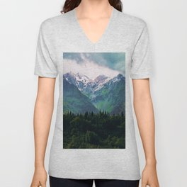 Escaping from woodland heights III Unisex V-Neck