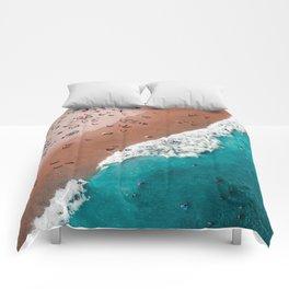 Beach life Comforters