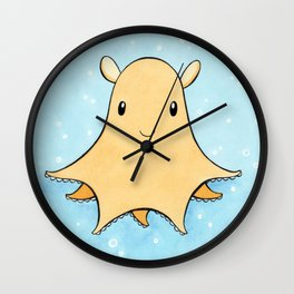 Flapjack Octopus Wall Clock