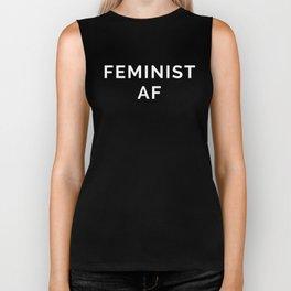 Feminist AF Quote Biker Tank