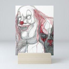 The Clowns Mini Art Print