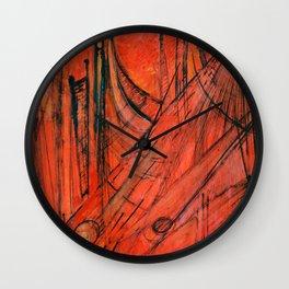 Piste Esistenziali Wall Clock