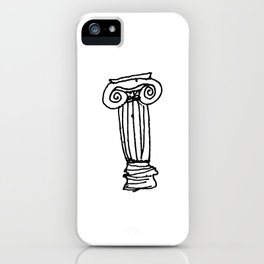 Ionic Column iPhone Case