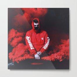 smoke flare Metal Print