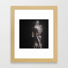 Space Lovers Framed Art Print